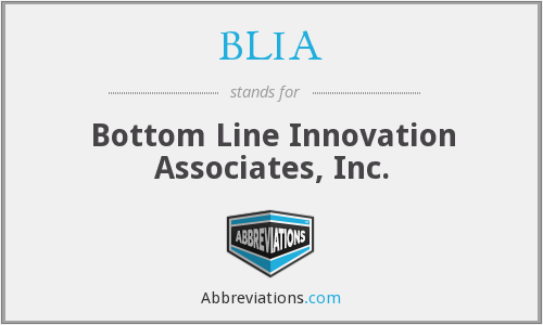 What does BLIA stand for?