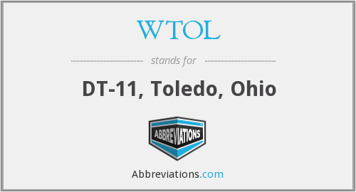 What does WTOL stand for?
