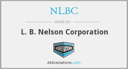 What does NLBC stand for?