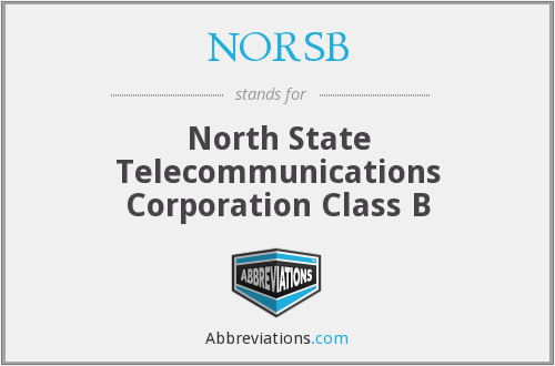 What does NORSB stand for?