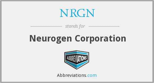 What does NRGN stand for?