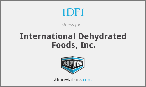What does IDFI stand for?