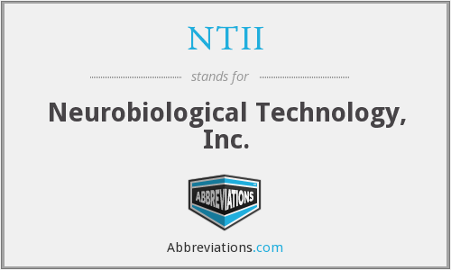 What does NTII stand for?