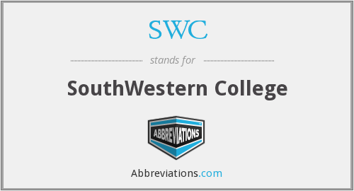 What does SWC stand for?