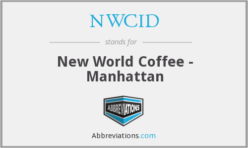 What does NWCID stand for?