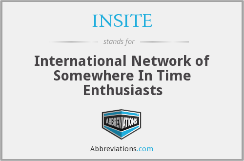What does INSITE stand for?
