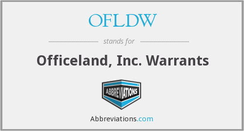 What does OFLF stand for?