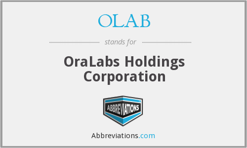 What does OLAB stand for?