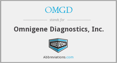 What does OMGD stand for?