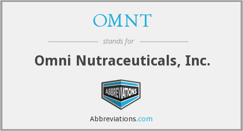What does OMNT stand for?