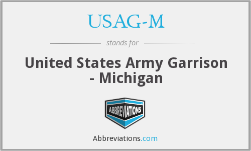 What does USAG-M stand for?