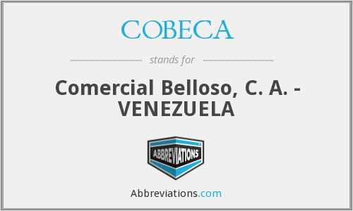 What does COBECA stand for?