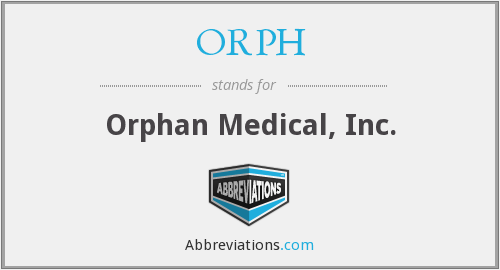 What does ORPH stand for?