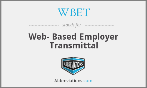 What does WBET stand for?