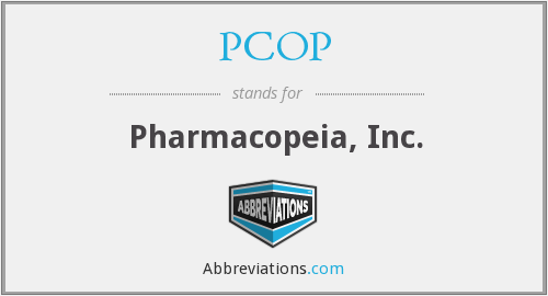 What does PCOP stand for?