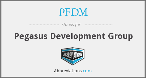What does PFDM stand for?