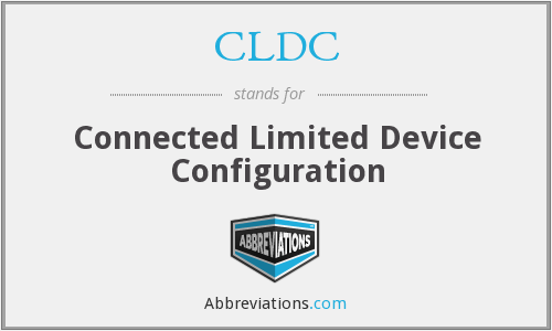 What does CLDC stand for?