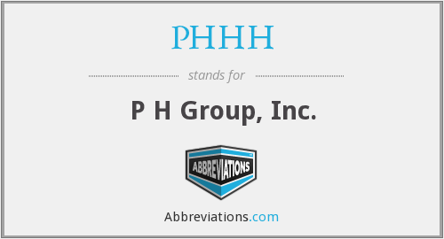 What does PHHH stand for?