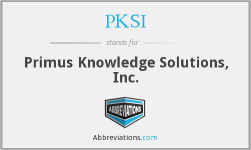 What does PKSI stand for?