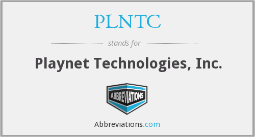 What does PLNTC stand for?