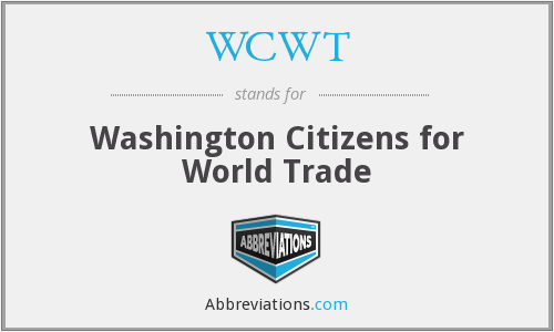 What does WCWT stand for?