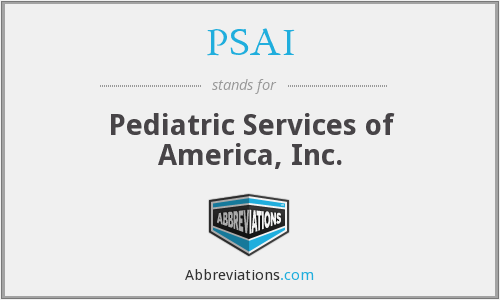 What does PSAI stand for?
