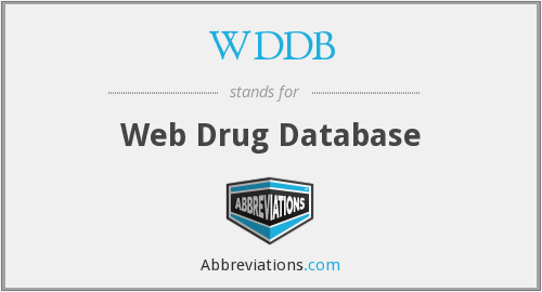 What does WDDB stand for?