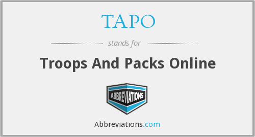 What does TAPO stand for?