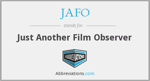What does JAFO stand for?