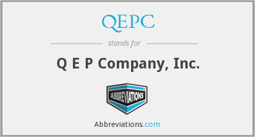 What does QEPC stand for?