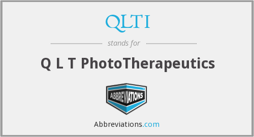 What does QLTI stand for?
