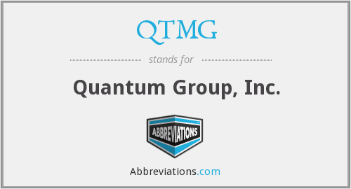 What does QTMG stand for?