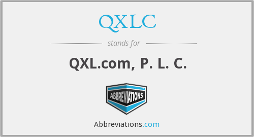 What does QXLC stand for?