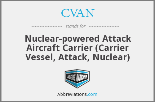 What does CVAN stand for?