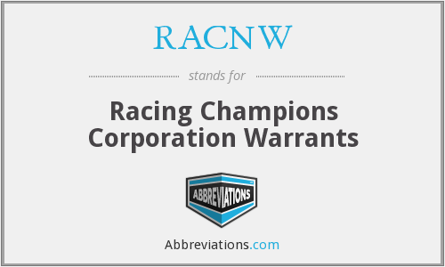 What does RACNW stand for?