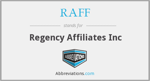 What does RAFF stand for?