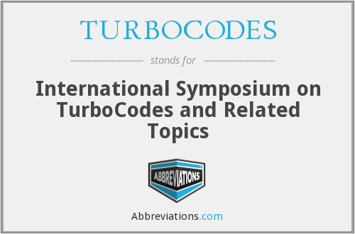 What does TURBOCODES stand for?