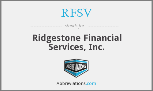 What does RFSV stand for?