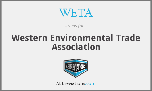 What does WETA stand for?