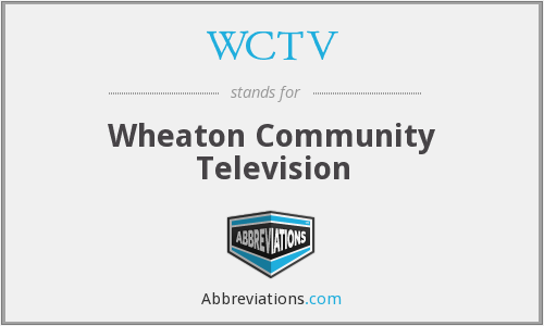 What does WCTV stand for?