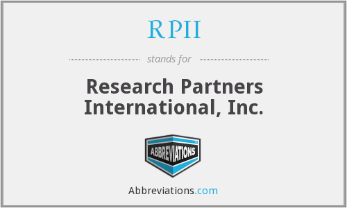 What does RPII stand for?