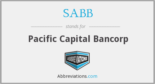 What does SABB stand for?