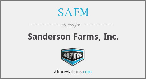 What does SAFM stand for?