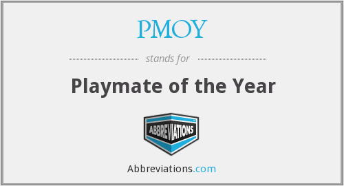What does PMOY stand for?