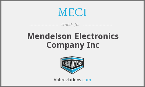 What does MECI stand for?