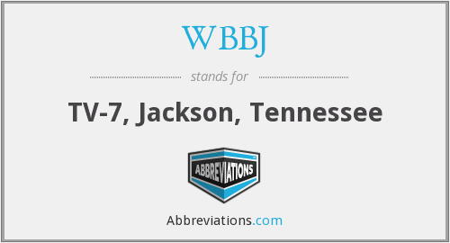 What does WBBJ stand for?