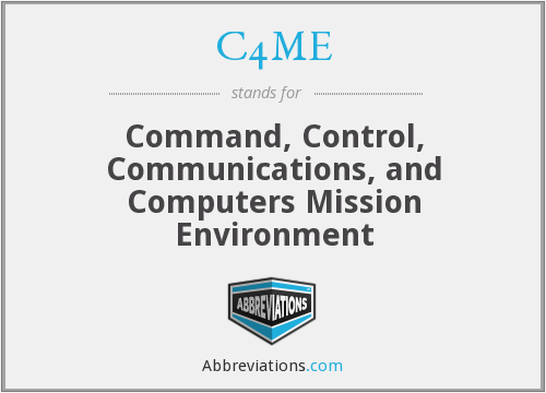 What does C4ME stand for?