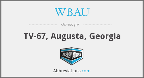 What does WBAU stand for?