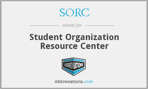 What does SORC stand for?