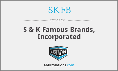What does SKFB stand for?